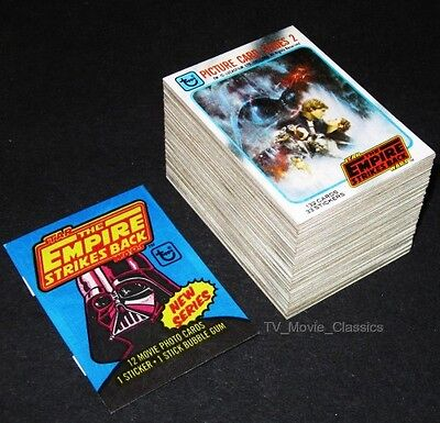 STAR WARS Empire Strikes Back (Series 2) © 1980 Topps 132 Card Set + ESB Wrapper
