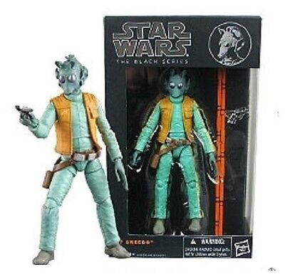 """Star Wars The Black Series 6"""" Action Figure Wave 2 Greedo 07 - NEW!"""