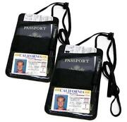 Passport Holder Neck