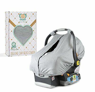 डीलक्स बेबी कार सीट कवर चंदवा Wtih सामने Acces पैनल और आसान यात्रा बैग