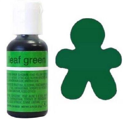 Chefmaster Liqua-Gel Food Coloring: Leaf Green .75 oz