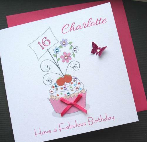 Happy 16th Birthday Wishes Cards Free Printable Personalised Card