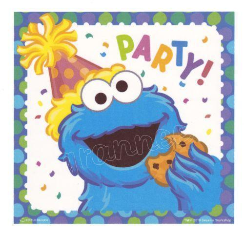 Cookie Monster Edible Cake Topper