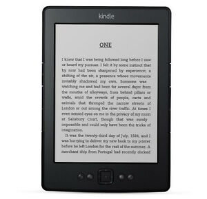 New Amazon Kindle 4 eBook Reader Black Wi-Fi Only
