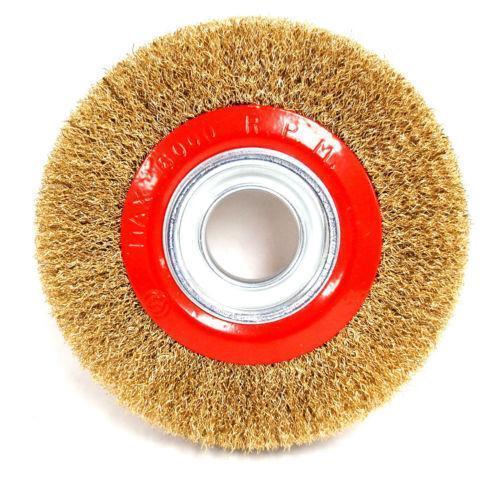 6 Quot Wire Wheel Brush Ebay