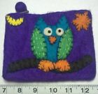 Handmade Owl Wallets for Women's Coin Purses