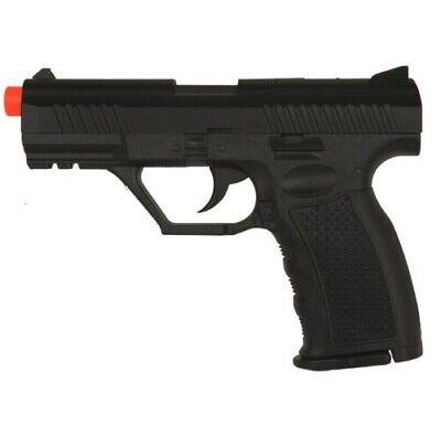 HFC P99 Airsoft Gun Hand Gun Spring ABS Polymer Side Arm Pistol Replica - Black P99 Pistol Gun
