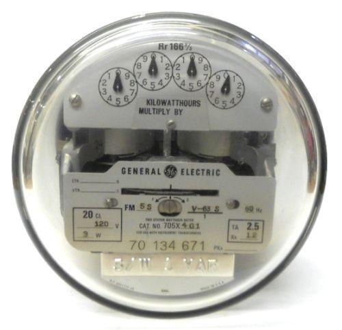 Elctric Meters S : General electric meter ebay