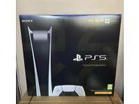 Sony Playstation 5 Digital Edition - White - 825GB✅