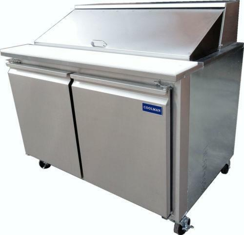 Refrigerated Sandwich Prep Table Ebay