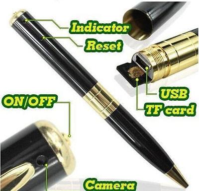 NEW DITACTIVE SECRET  Mini HD Pen Camera Video Recorder USB DVR 32GB Storage