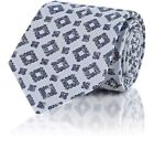 isaia Blue Ties for Men