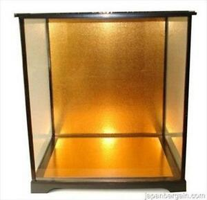 glass doll display case