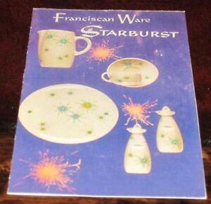 Vintage Franciscan Starburst & Franciscan Starburst | eBay