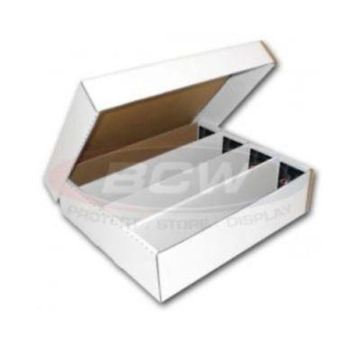 (5x) BCW Monster (3200 Count) Corrugated Cardboard Storage Box
