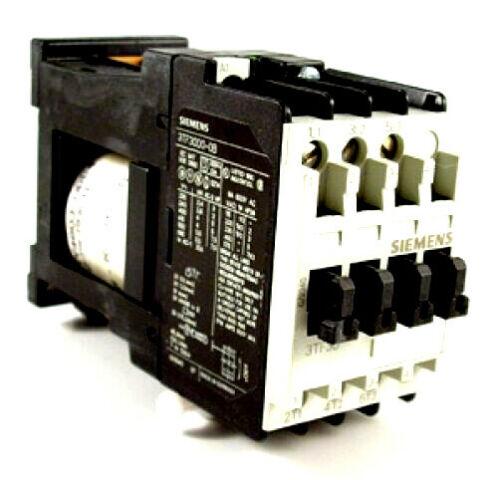 Siemens Motor Starter, Contactor, 24VDC, 3TF30-00-OBB4, Stock #162-182