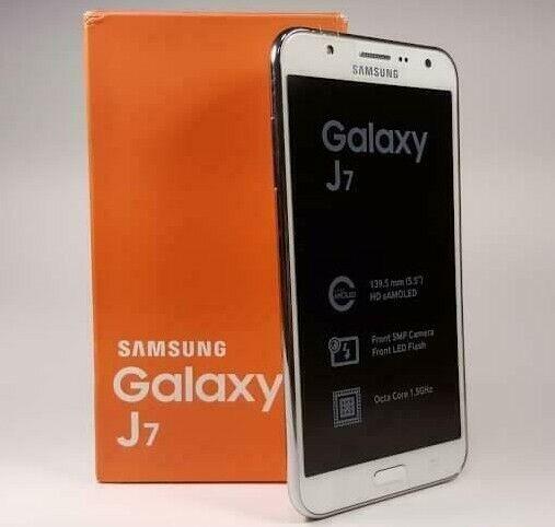 Android Phone - Boxed 4G Dual SIM Samsung Galaxy J7 SM-J700 16GB Android Smart Phone Unlock UK
