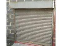 Heavy Duty Metal Roller Shutter (Manual) & All Fittings