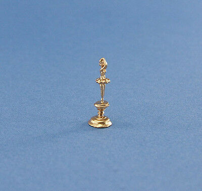 1:12 Scale Dollhouse Miniature Gold Ballerina Trophy/Figurine #JLM149