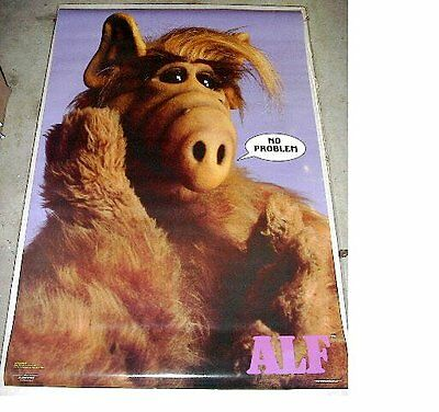 Vintage ALF No Problem poster (23 x 35 inches) original & authentic from the 80s