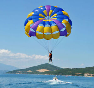 Lightly Used 27 ft. Parasail With 300 ft. Tow Rope