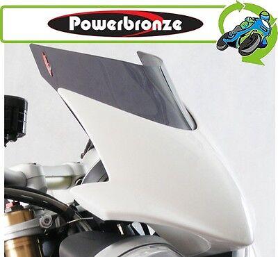 New Powerbronze Airflow Dark Tint Screen Triumph Street Triple & R 2013 to 2016