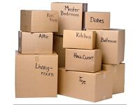 Selection of House Move Boxes / Packing Boxes
