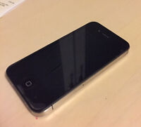 70$ iPhone 4s+screen protector+ case