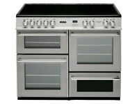 Leisure Cuisine Master 100 Range Cooker Stainless Steel***FREE DELIVERY***3 MONTHS WARRANTY***