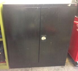 Steel black cabinet , Sale Price ONLY £50