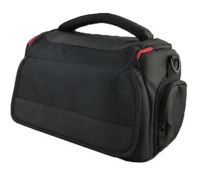 Large DSLR Camera Shoulder Bag Case For Nikon D3400 D3500 D500 D850 D750 (Black)