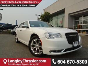 2017 Chrysler 300 C Platinum *ACCIDENT FREE*LOCAL*ONE OWNER*