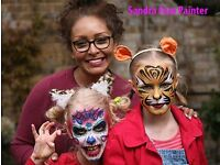 Face painter corporative and private events