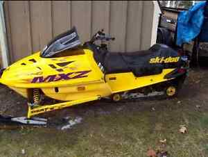 Ski-Doo MXZ 670 Liquid Cool