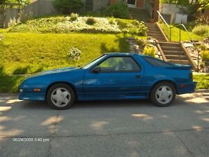 Wanted: Daytona IROC or Shelby parts car or project car