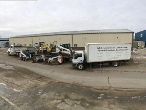 Basement foundation repairs/water problems/ Screw piles Regina Regina Area image 1