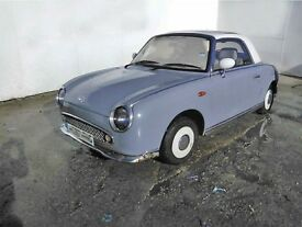 1991 NISSAN FIGARO 1.0 TURBO AUTOMATIC CONVERTIBLE DAMAGED