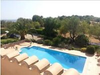 Stunning Algarve villa for holiday in July