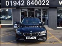 2014 14 BMW 5 SERIES 2.0 520D SE 4D 181 BHP ECONOMICAL 4DR 6SP DIESEL SALOON,