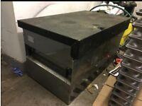 Locking van vault tool box storage