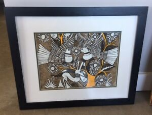 Original Painting with Frame