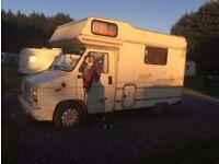Talbot Autoqest 4 berth camper van
