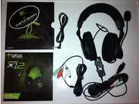 Xbox 360 Turtle beach x12