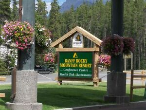 Banff Rocky Mountain Resort time share for rent