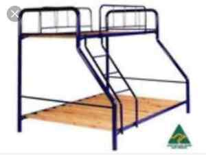 Trio safety bunk bed black Armstrong Creek Geelong City Preview