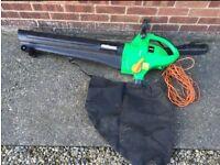 Leaf blower/vacuum