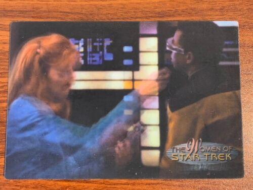 2000 Rittenhouse Women of Star Trek in Motion #7 Doctor Crusher Free Shipping
