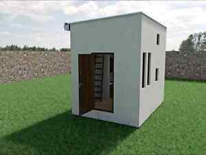start up micro home building system needs space to build first o
