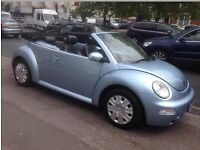 Vw beetle cabrio FSH full leather interior