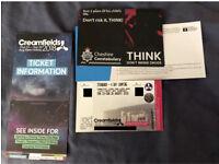 Creamfields 2018 4 day standard
